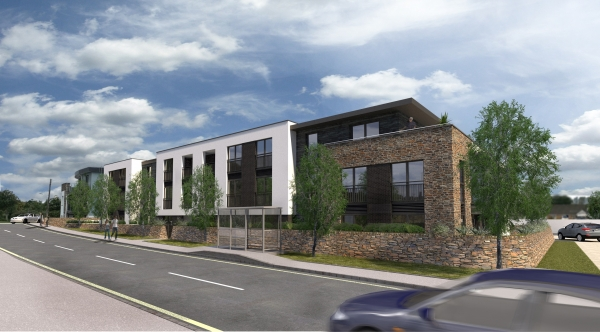 Proposed Build for Rent Apartment Scheme - Threemilestone, Truro